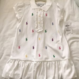 NWT Ralph Lauren Polo Dress Size 24 Months